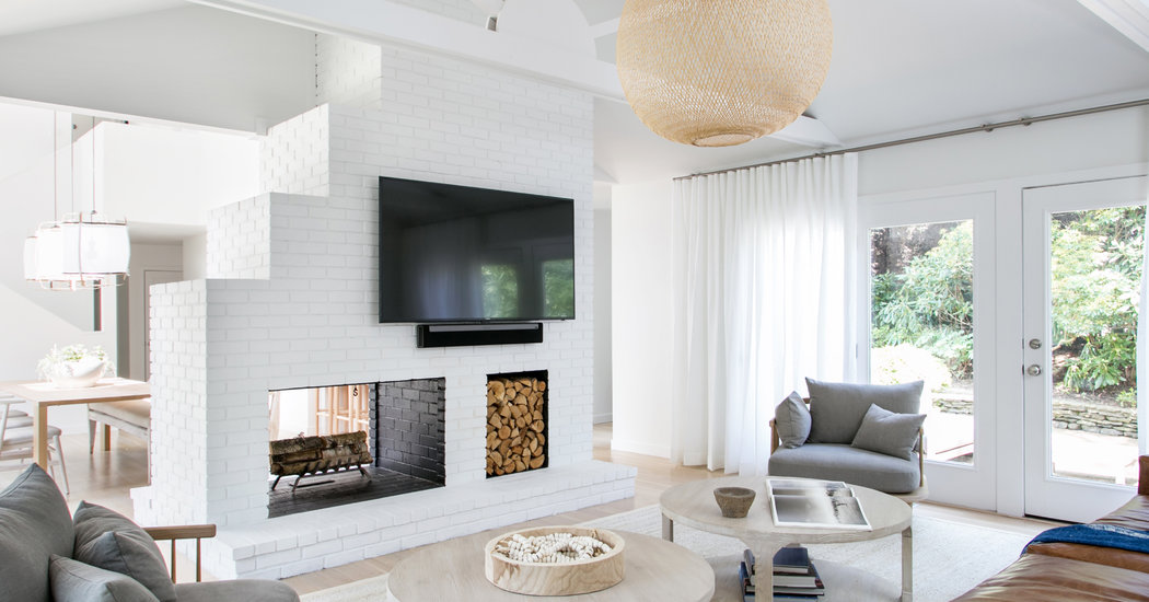 That Ugly Fireplace Isn't as Bad as You Think